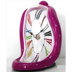 Reloj Dali morado