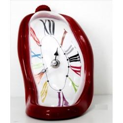 Reloj Dali rojo