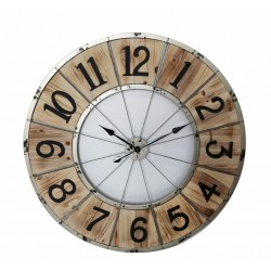 Reloj madera 114x3 cm