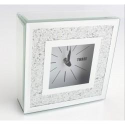 Reloj brillante 15x15 cm