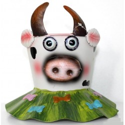 Macetero vaca