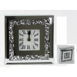 Reloj Cristal 18x18 cm