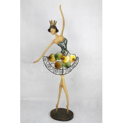 Bailarina colores 75x30x13 cm