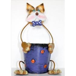 Macetero gato