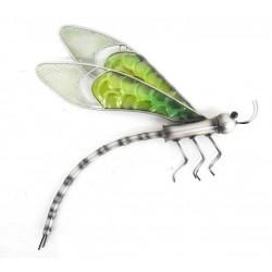 Libelula verde decorativa...