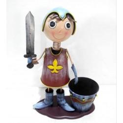 Macetero soldado espada