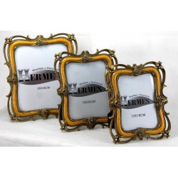 Portafotos clásico naranja