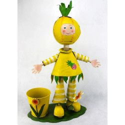 Macetero niño limón