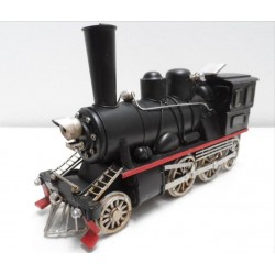 Tren negro de vapor antiguo