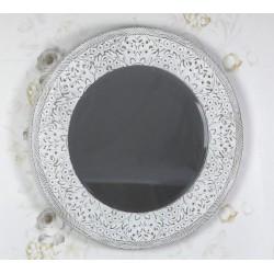 Espejo blanco 90x5 cm