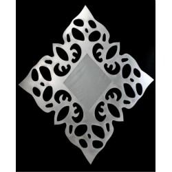 Espejo-mandala 3 plata