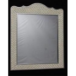 Espejo clásico blanco