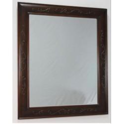 Espejo marco nogal