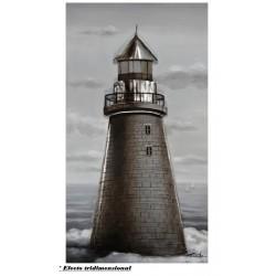 Cuadro 3D Lighthouse 70x140