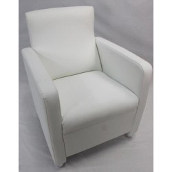 Sillón butaca color blanco