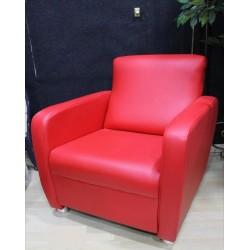 Sillón butaca color rojo