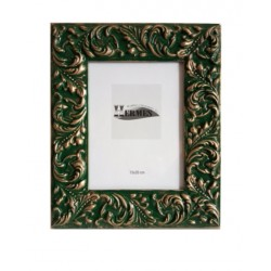 Portafotos verde ingles 15x20